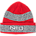 Front view of adidas Northern Illinois Huskies College Player Watch Knit Cap in Team Colors