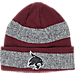 Front view of adidas Texas State Bobcats College Player Watch Knit Cap in Team Colors