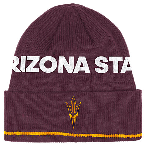 adidas Arizona State Sun Devils College Coach Cuffed Beanie Knit Hat