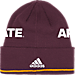 Back view of adidas Arizona State Sun Devils College Coach Cuffed Beanie Knit Hat in Team Colors