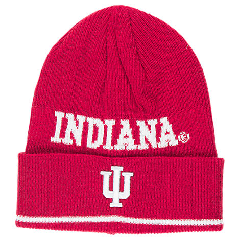 adidas Indiana Hoosiers College Coach Cuffed Beanie Knit Hat