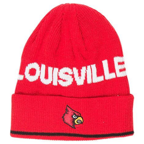 adidas Louisville Cardinals College Coach Cuffed Beanie Knit Hat