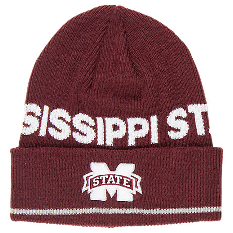 adidas Mississippi State Bulldogs College Coach Cuffed Beanie Knit Hat