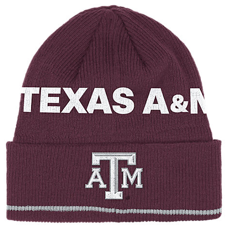 adidas Texas A & M Aggies College Coach Cuffed Beanie Knit Hat