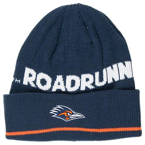 adidas Texas - San Antonio Roadrunners College Coach Cuffed Beanie Knit Hat