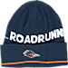 Front view of adidas Texas - San Antonio Roadrunners College Coach Cuffed Beanie Knit Hat in Team Colors