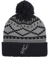 adidas San Antonio Spurs NBA Diamond Cuffed Pom Knit Hat