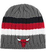 adidas Chicago Bulls NBA Striped Knit Beanie