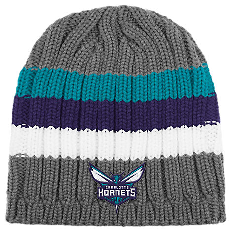 adidas Charlotte Hornets NBA Striped Knit Beanie