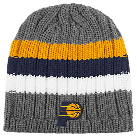 adidas Indiana Pacer NBA Striped Knit Beanie