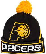 adidas Indiana Pacers NBA Oversized Team Logo Knit Hat