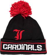 adidas Louisville Cardinals College Oversized Logo Knit Hat
