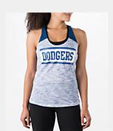 Women's New Era Los Angeles Dodgers MLB Space Dye Tank