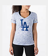 Women's New Era Los Angeles Dodgers MLB Space Dye T-Shirt