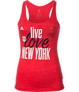 Women's adidas New York Red Bulls MLS Love Tank