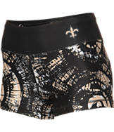 Women's Forever New Orleans Saints NFL Thematic Booty Shorts