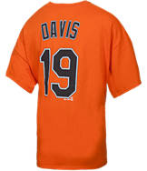 Men's Majestic Baltimore Orioles MLB Chris Davis Name and Number T-Shirt