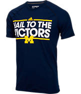 Men's adidas Michigan Wolverines College Dassler Local T-Shirt