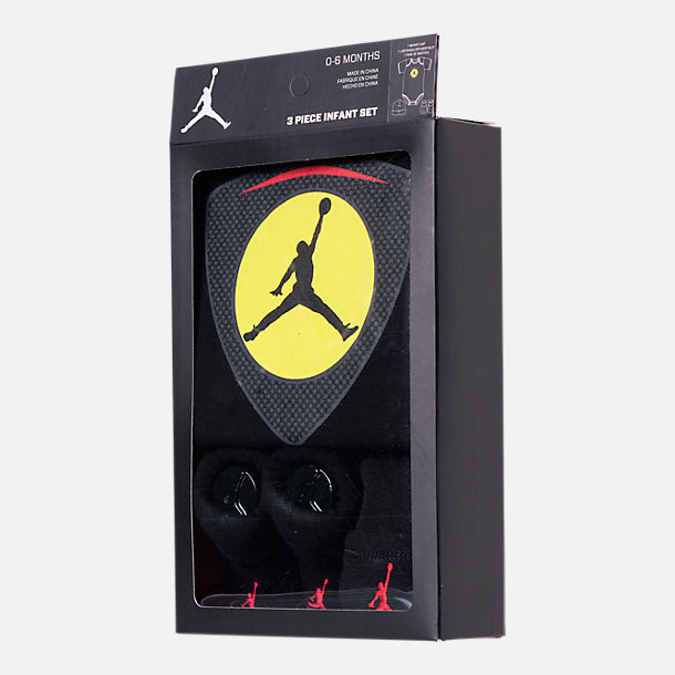 Infant Air Jordan Retro 14 Emblem 3-Piece Set | Tuggl