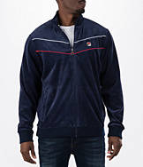 Men's Fila Piped Velour Jacket