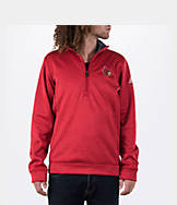 Men's adidas Louisville Cardinals College Climawarm Team Issue Quarter-Zip Pullover