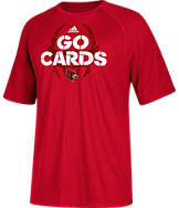 Men's adidas Louisville Cardinals College Sideline Mantra T-Shirt