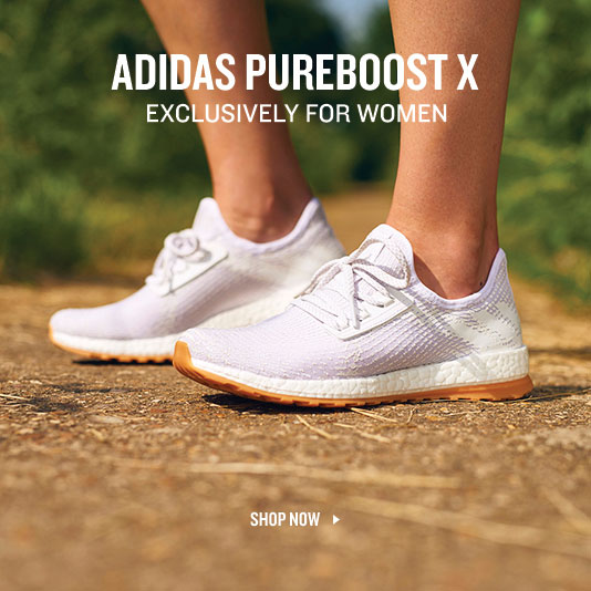 Pure Boost X. Made Exclusively For Women. Shop Now.