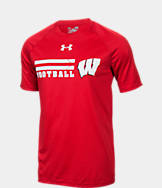 Men's Under Armour Wisconsin Badgers College Wordmark T-Shirt