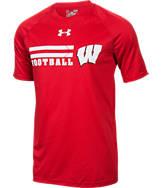 Men's Under Armour Wisconsin Badgers College Wordmark T-Shirt