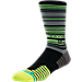 Back view of Men's Stance Coyote Crew Socks in Lime