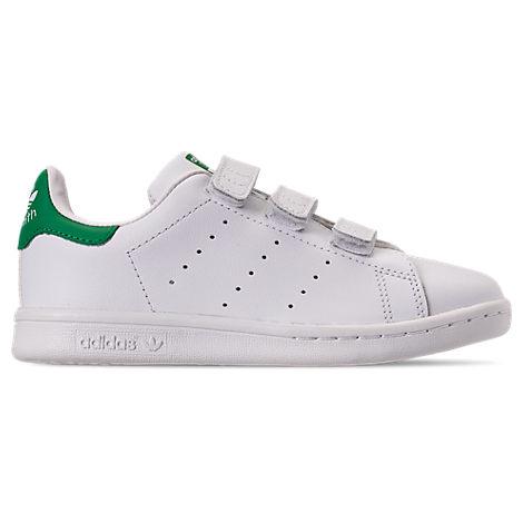 Boys' Preschool adidas Originals Stan Smith Hook-and-Loop Closure Casual Shoes