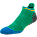 Front view of Men's Stance Highlight Tab Socks in Green