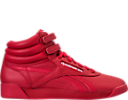Women's Reebok Freestyle Hi Spirit Casual Shoes