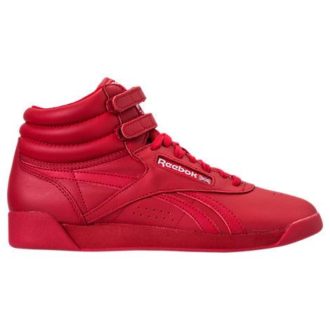 Women's Reebok Freestyle Hi Spirit Casual Shoes
