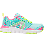 Girls' Preschool Reebok Hexaffect Run Running Shoes