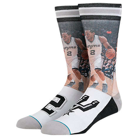Stance San Antonio Spurs Kawhi Leonard NBA Future Legend Socks