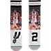 Back view of Stance San Antonio Spurs Kawhi Leonard NBA Future Legend Socks in Grey