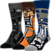 Front view of Men's Stance Star Wars 3-Pack Socks in A New Hope