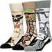 Front view of Men's Stance Star Wars 3-Pack Socks in Empire Strikes Back