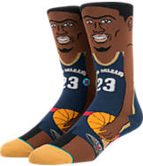 Stance New Orleans Pelicans Anthony Davis NBA Socks