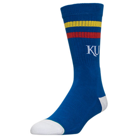 Men's Stance Kansas Jayhawks College Classic Crew Team Socks