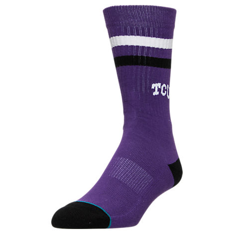 Men's Stance TCU Horned Frogs College Classic Crew Team Socks