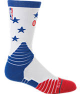 Men's Stance Philadelphia 76ers NBA Core Crew Socks