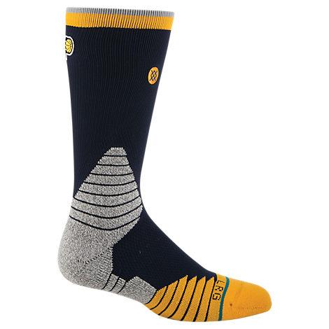 Men's Stance Indiana Pacers NBA Logo Crew Socks