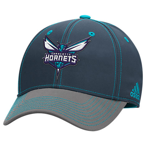 adidas Charlotte Hornets NBA Two-Toned Flex Performance Fitted Hat