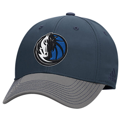 adidas Dallas Mavericks NBA Two-Toned Flex Performance Fitted Hat