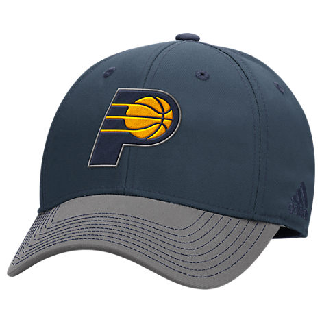 adidas Indiana Pacers NBA Two-Toned Flex Performance Fitted Hat