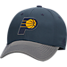 Front view of adidas Indiana Pacers NBA Two-Toned Flex Performance Fitted Hat in Team Colors