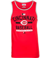 Men's Majestic Cincinnati Reds MLB AC Team Tank