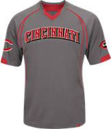 Men's Majestic Cincinnati Reds MLB Lead Hitter T-Shirt
